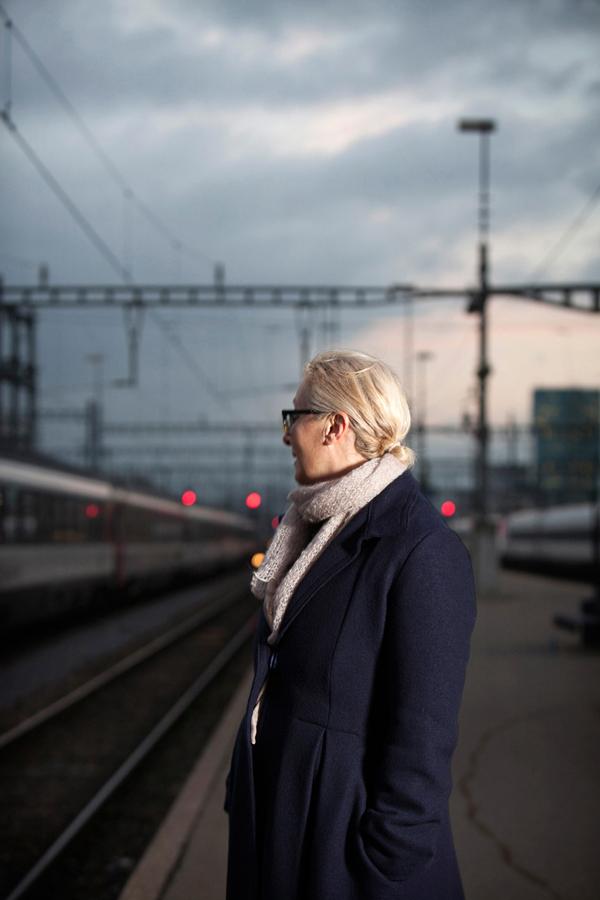 Jeannine Pilloud, Leiterin Personenverkehr SBB