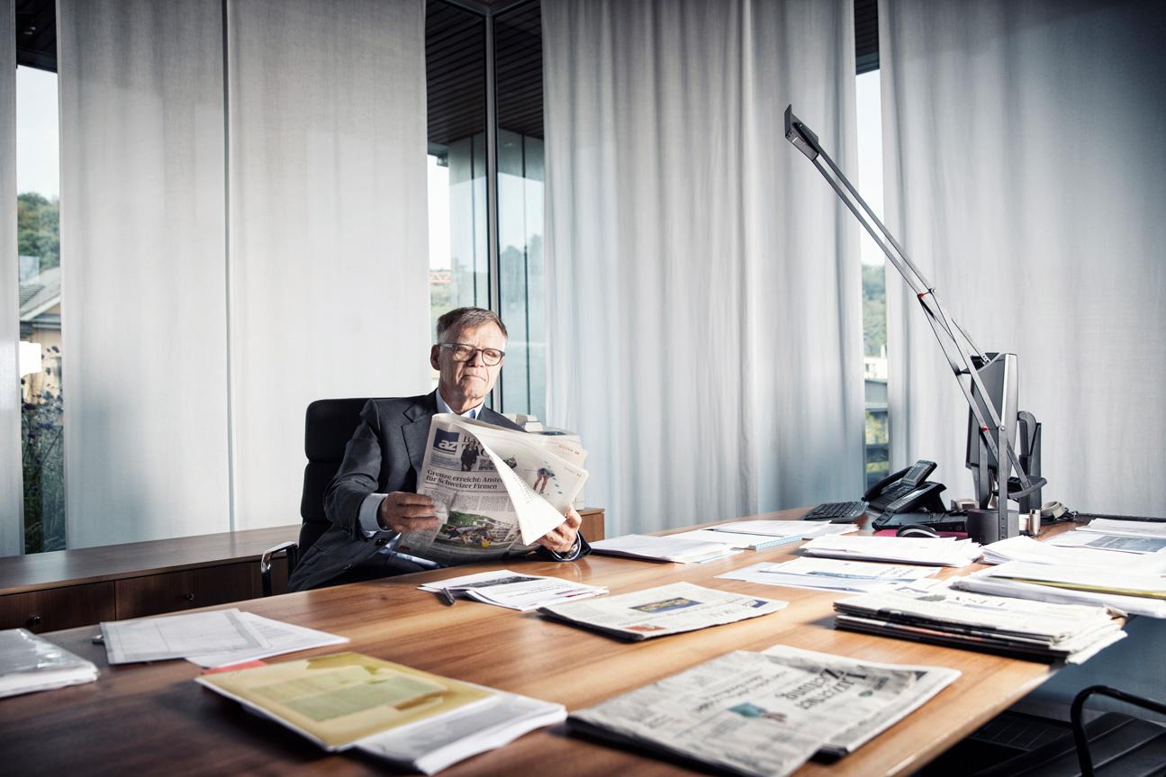 Peter Wanner, Verleger AZ-Medien