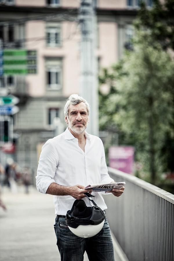 Walter de Gregorio, Schweizer Journalist und ehem. FIFA-Sprecher
