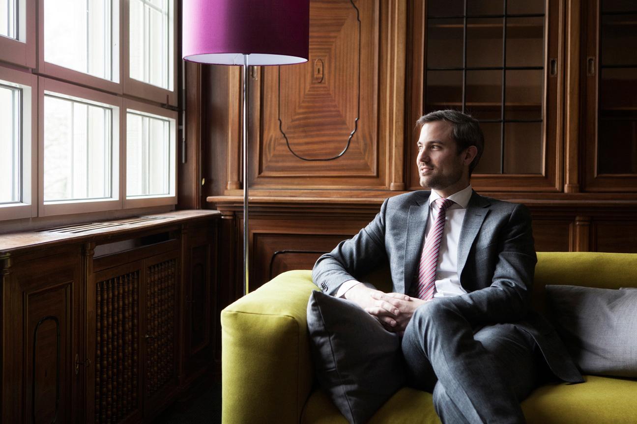 Marc Stoffel, CEO von Haufe-umantis