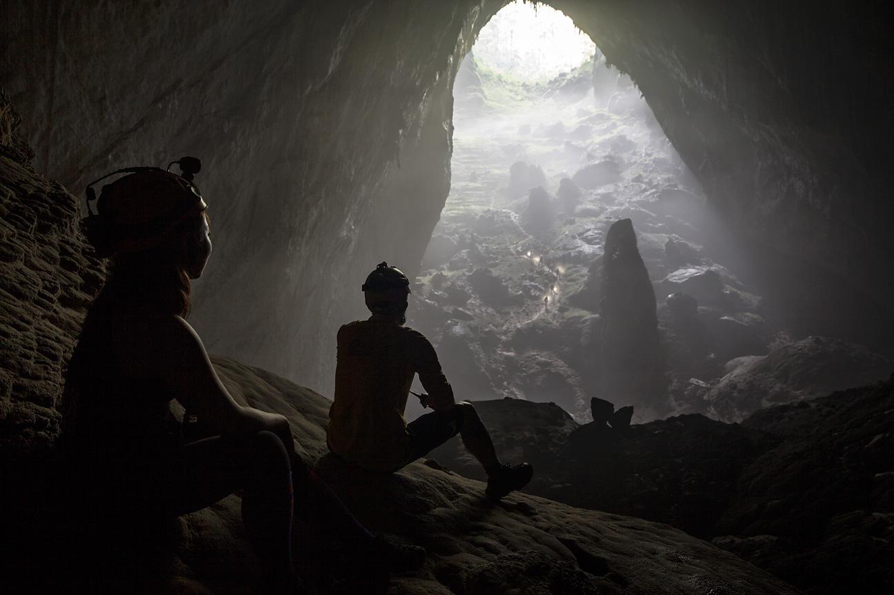 Die Höhle ist so gross, es hätten ganze Häuserblöcke mit Hochhäusern drin Platz.
