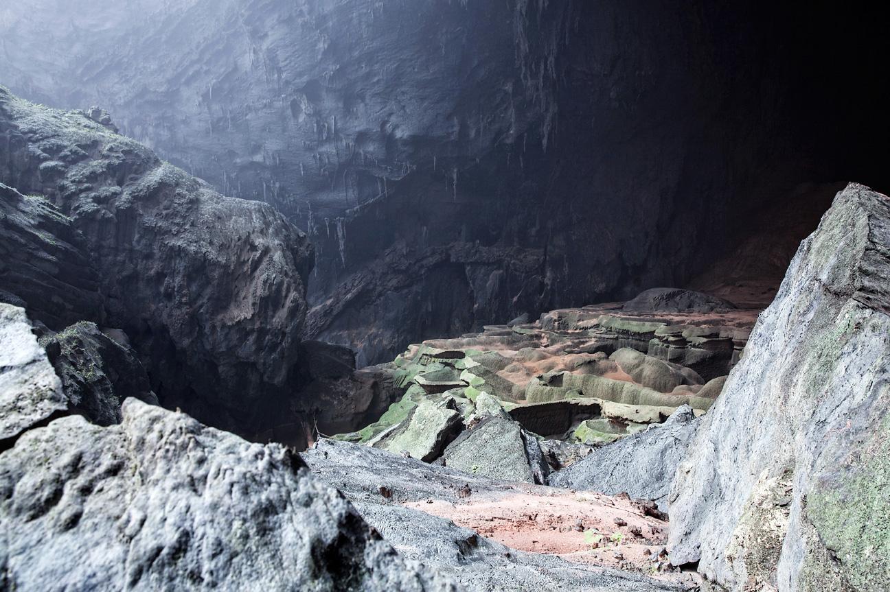 Unwirkliche Landschaften in der Son Doong Höhle