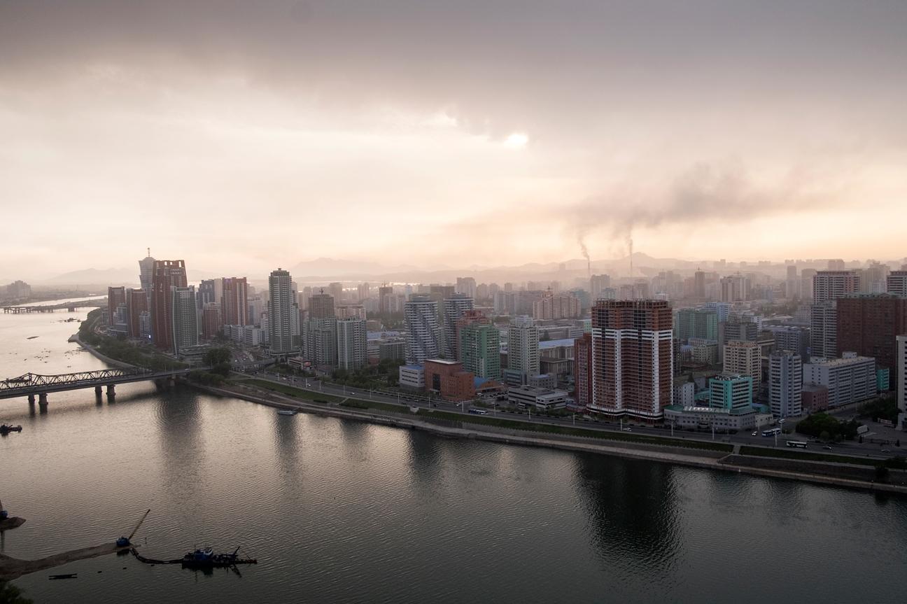 Skyline von Pyongyang