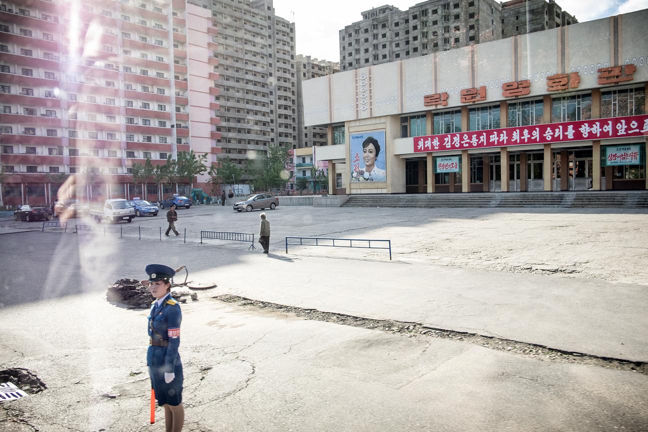 Eines der Kinos in Pyongyang